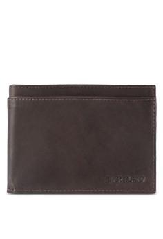 Brown Leather Embossed Wallet