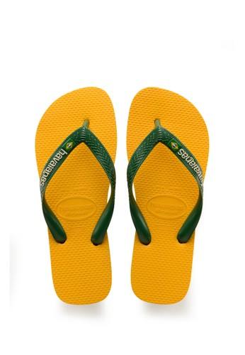 Havaianas yellow Havaianas Brasil Logo 1652-Banana Yellow 9B512SHDF84A55GS_1