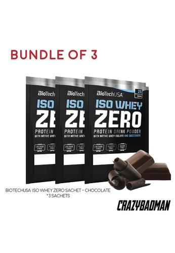 BioTechUSA [Bundle of 3] Iso Whey Zero Sachet - Chocolate 7DED9ESD68D329GS_1