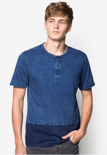 配色純棉TEesprit hk storeE, 服飾, 素色T恤