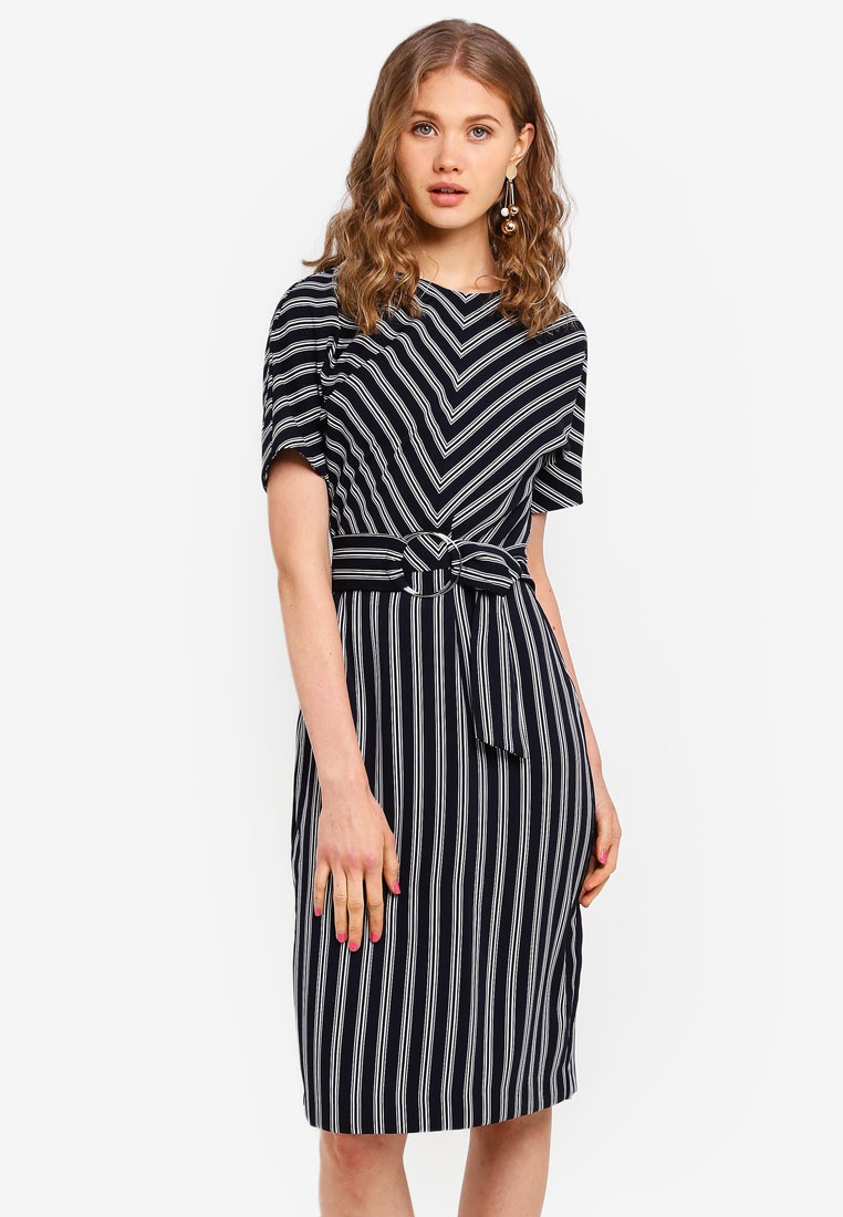 Dress Dress Black Black Stripe Black Dress WAREHOUSE Stripe WAREHOUSE WAREHOUSE Stripe CqnUT8tt