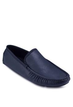 仿皮豆豆莫卡辛鞋