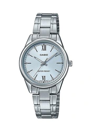 CASIO silver CASIO WATCH LTP-V005D-2B3UDF B092CAC6537245GS_1