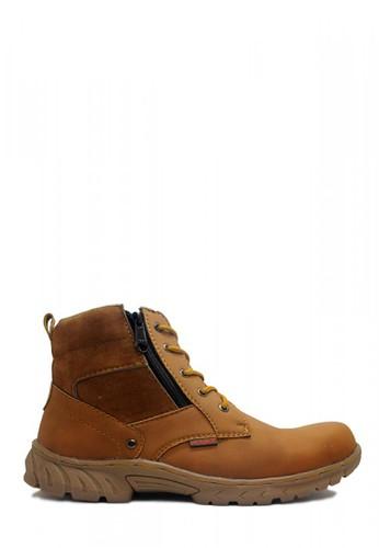 Cut Engineer brown Cut Engineer Zipper Safety Boots Donald Tactikal Soft Brown 1E311SH8AA2930GS_1