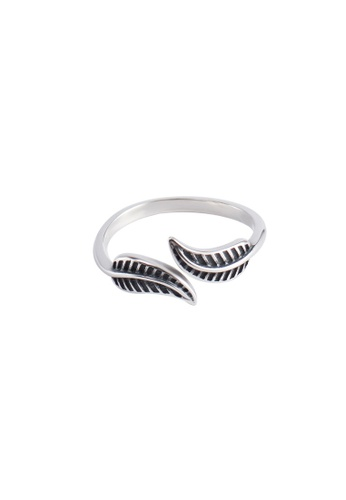 A-Excellence silver Premium S925 Sliver Geometric Ring CE80EAC31FD567GS_1