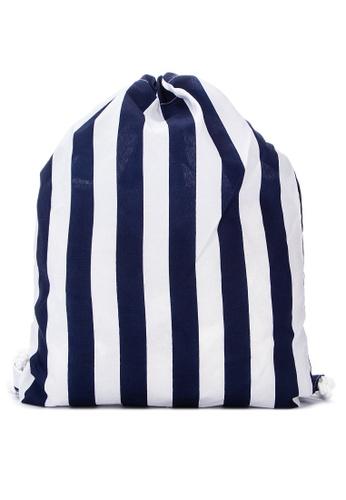 Irene blue Genevieve Drawstring Bag FBE51AC5A3CBBDGS_1