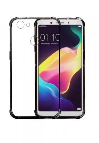 9197fd0d7bcfc0 MobileHub grey German Import Drop Resistant Silicone Clear Case for Oppo F5  MO220AC0KAHUPH_1