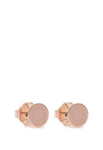 Marc Jacobs The Medallion Studs Stud earrings 4F36DAC3DEAD68GS_1
