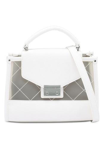ELLE white Tessa Carry Bag 6E104AC4DD806CGS_1