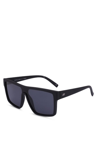 Le Specs black Minimal Magic 1702047 Sunglasses F006FGLC0D2531GS_1