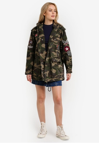 Buy Superdry Rookie Oversized Parka Jacket | ZALORA Singapore