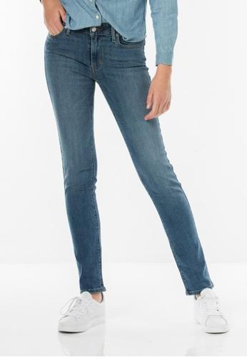 Levi's blue 712 Slim Jeans LE843AA0FG2ISG_1