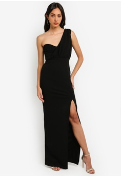 4a90be9e788 11% OFF MISSGUIDED One Shoulder Bust Cup Maxi Dress S  61.90 NOW S  54.90  Sizes 6 8 10 12 14