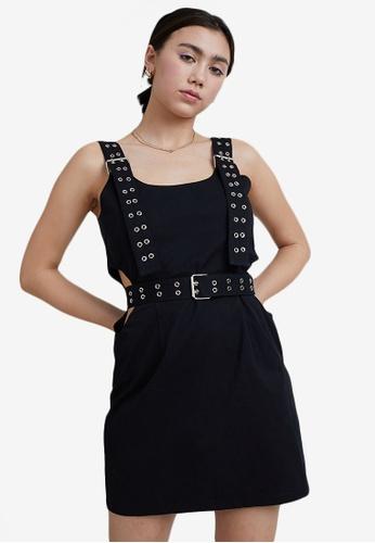 The Ragged Priest black Duration Dress 3201CAA2966D72GS_1