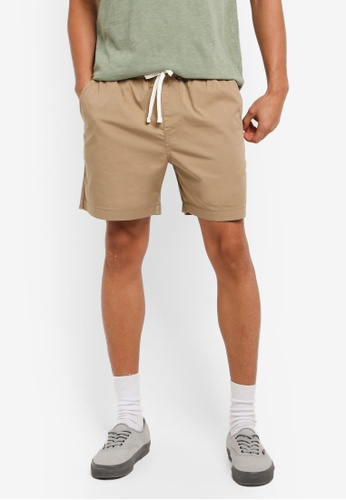 J.Crew beige Dock short in stretch chino 90387AA4C875C4GS_1