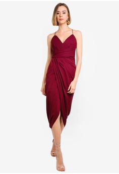 9f4a496a4a5e 12% OFF Forever New Charlotte Drape Maxi Dress S$ 173.00 NOW S$ 151.90  Available in several sizes