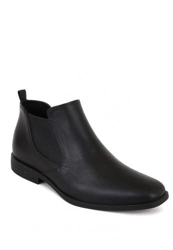 Easy Soft By World Balance black Boston MS Boots 84E9CSH3DA3397GS_1