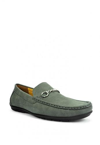 Mario D' boro Runway green Chester Casual Shoes 27D90SHB536923GS_1