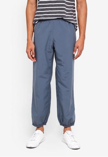 threads by the produce 灰色 Taffeta Track Pants 4D119AA3FFA6D0GS_1