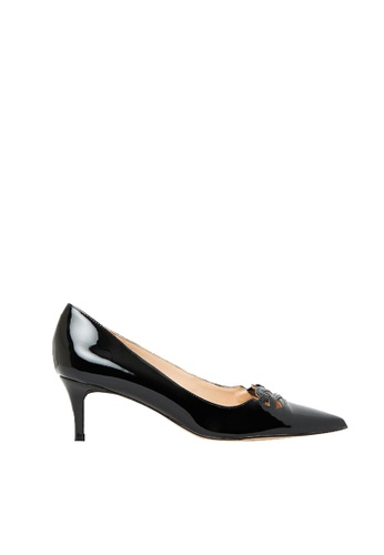 Nina Armando black Jazz Patent Leather low Heel NI342SH0FV42SG_1
