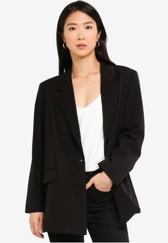Vero Moda black Ivy Oversized Blazer 7E8D2AAA29FF88GS_1