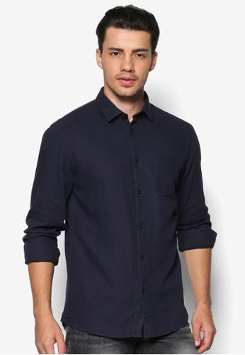 Baron 素色esprit sg長袖襯衫, 服飾, 服飾