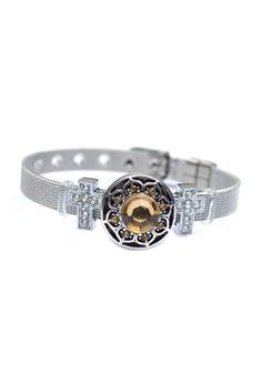 1-Snap Stainless Steel Slim Bracelet