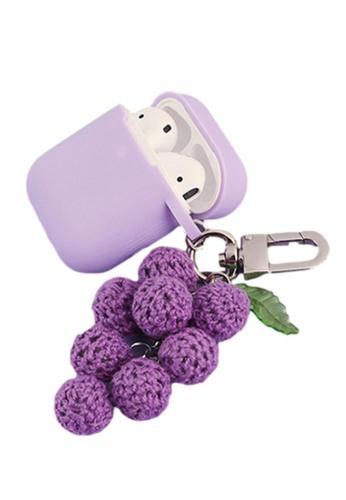Kings Collection purple Purple Grape AirPods Case (UPKCAC2054) 418E1AC6C02021GS_1