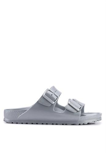Birkenstock silver Arizona EVA Sandals 1867CSH77E7A76GS_1