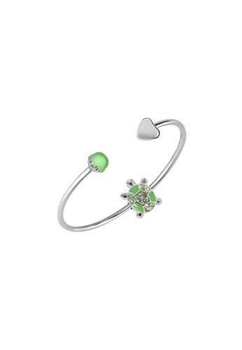 Morellato green Drops Bracelet SCZ1013 Steel Stone AB125ACC42AA72GS_1
