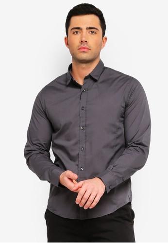 Brave Soul multi and grey Tudor Long Sleeve Shirt 0483DAA932786EGS_1