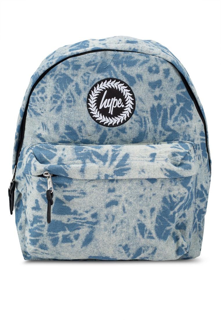 Just Hype Blue Wash Friday Denim Backpack Acid Black OCTwqf for ... 5393c20013af6