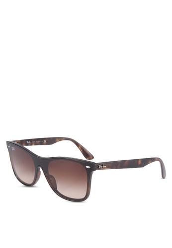 Ray-Ban 褐色 RB4440NF Sunglasses F0FA3GLF7B9289GS_1