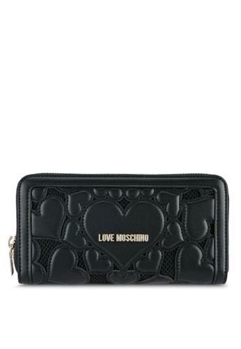 Love Moschino black Portafogli Wallet LO478AC0SEKSMY_1