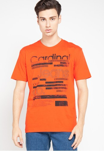 "Cardinal orange T-Shirt ""C-Jns"" 2CB25AA6E8F650GS_1"