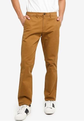 GAP brown Essential Khaki Skinny Pants 7134FAA3B83C23GS_1
