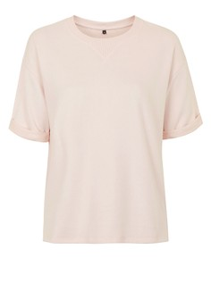 Peached Short Sleeves Sweat