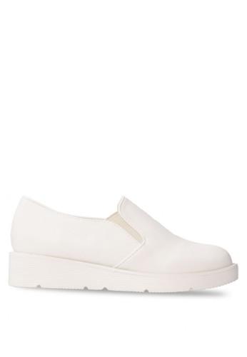 CLARETTE white Clarette Slip On Kimberlee - White CL076SH21DYWID_1