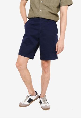 GAP navy Solid Shorts 30340AA3EE45BBGS_1