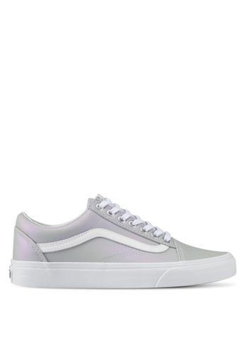 VANS grey Old Skool Muted Metallic Sneakers VA142SH0SWVQMY_1