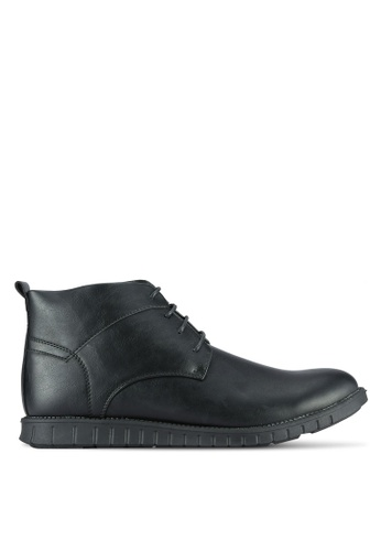 UniqTee black Chukka Oxford Boots UN097SH0RS4RMY_1