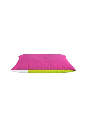 doob pink and green and multi PLOPSTA' ALFRESCO - outdoor doob bean bag that can float (Watermelon) B4609HL66795A4GS_1