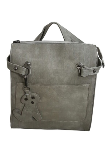 TCWK grey Ladies Backpack TC258AC64RZZMY_1