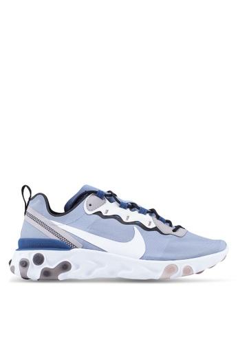 85deb20fe4922 Nike blue Nike React Element 55 Shoes FA2C6SHE7CA1C0GS 1