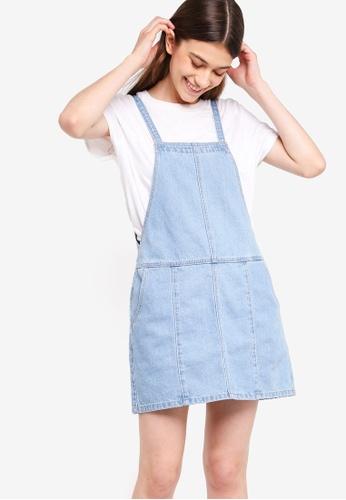Something Borrowed blue Pinafore Dress 8B786AA54BC3F3GS_1