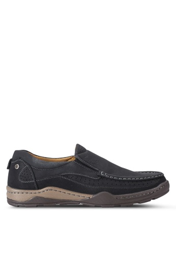 Louis Cuppers black Casual Moccasins LO977SH20AXNMY_1