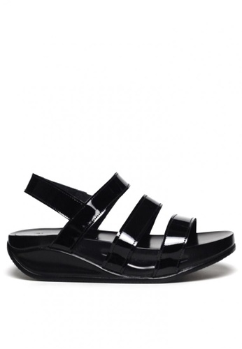 Ohrelle black Jemm strappy Flip Flops by Floppies by Ohrelle 16080SH912F161GS_1
