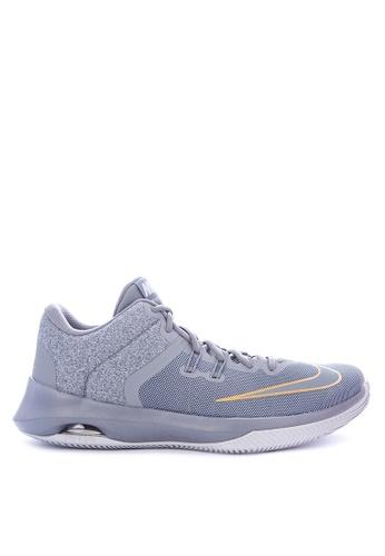 Nike grey Men's Nike Air Versitile II Basketball Shoes 5D8B0SH4D02259GS_1