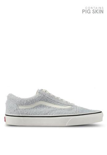 VANS blue Old Skool Fuzzy Suede Sneakers VA142SH0SKVIMY_1