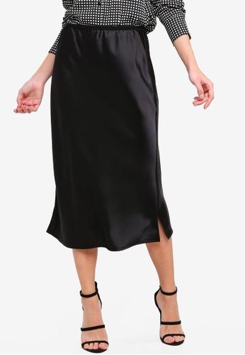 Vero Moda black Ginger Skirt 481C5AAD098D0EGS_1